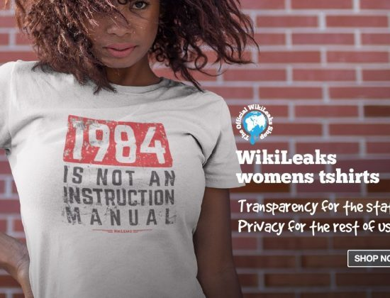 Official WikiLeaks Shop
